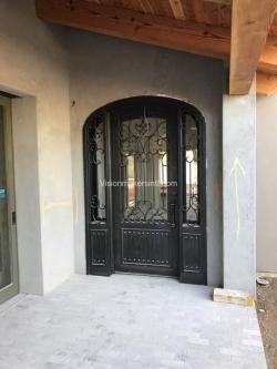 Visionmakers Steel Door with Sidelights 111