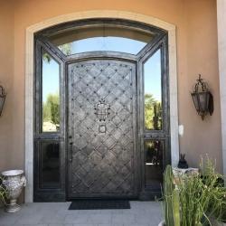 Visionmakers Steel Door with Sidelights 110