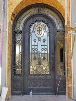 Visionmakers Steel Door with Sidelights 106