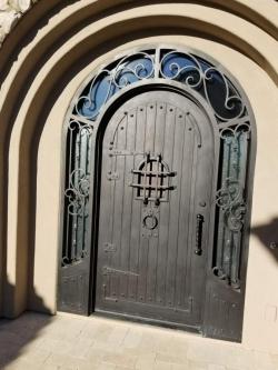 Visionmakers Steel Door with Sidelights 105