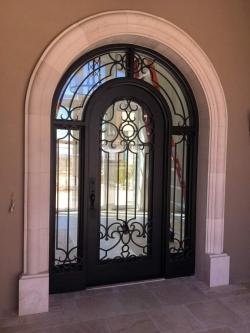 Visionmakers Steel Door with Sidelights 104