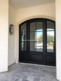 Visionmakers Steel Door with Sidelights 96