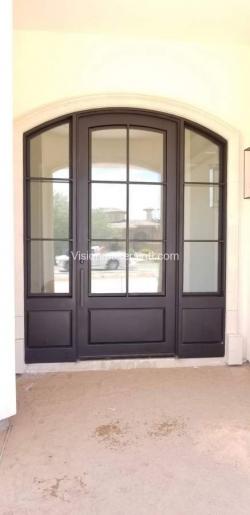 Visionmakers Steel Door with Sidelights 90