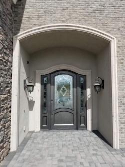 Visionmakers Steel Door with Sidelights 88