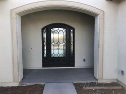 Visionmakers Steel Door with Sidelights 87
