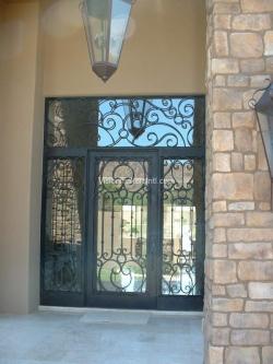 Visionmakers Steel Door with Sidelights 86