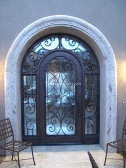 Visionmakers Steel Door with Sidelights 82