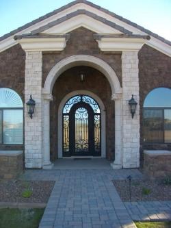 Visionmakers Steel Door with Sidelights 81