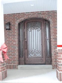Visionmakers Steel Door with Sidelights 65
