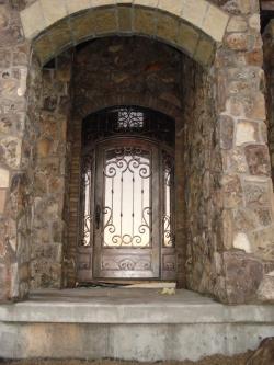 Visionmakers Steel Door with Sidelights 64