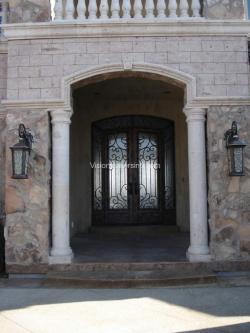 Visionmakers Steel Door with Sidelights 63