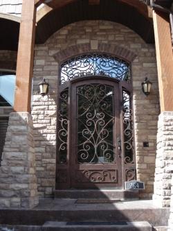 Visionmakers Steel Door with Sidelights 58