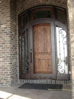 Visionmakers Steel Door with Sidelights 57
