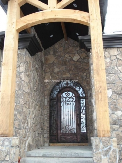 Visionmakers Steel Door with Sidelights 54