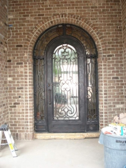 Visionmakers Steel Door with Sidelights 52