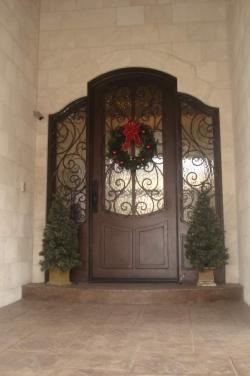 Visionmakers Steel Door with Sidelights 48