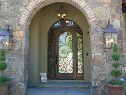 Visionmakers Steel Door with Sidelights 46