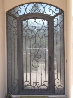 Visionmakers Steel Door with Sidelights 45