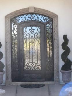 Visionmakers Steel Door with Sidelights 43