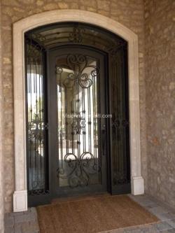 Visionmakers Steel Door with Sidelights 41