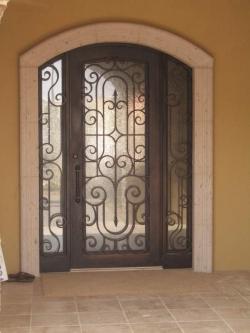 Visionmakers Steel Door with Sidelights 71