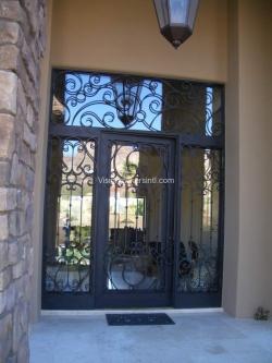 Visionmakers Steel Door with Sidelights 70