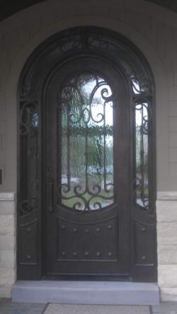 Visionmakers Steel Door with Sidelights 36