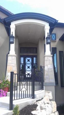 Visionmakers Steel Door with Sidelights 34