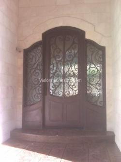 Visionmakers Steel Door with Sidelights 9