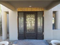 Visionmakers Steel Door with Sidelights 29