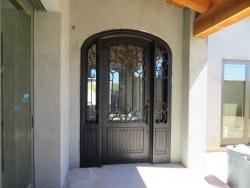 Visionmakers Steel Door with Sidelights 22