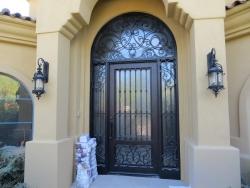 Visionmakers Steel Door with Sidelights 20