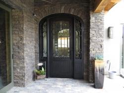 Visionmakers Steel Door with Sidelights 18