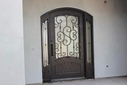 Visionmakers Steel Door with Sidelights 95