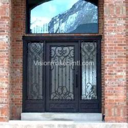 Visionmakers Steel Door with Sidelights 2