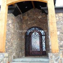 Visionmakers Steel Door with Sidelights  67