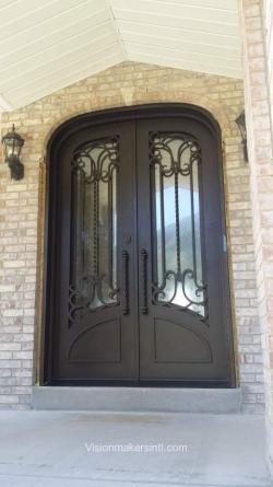 Visionmakers Steel Double Door 156