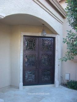 Visionmakers Steel Double Door 96
