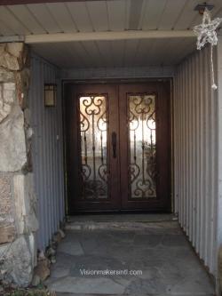 Visionmakers Steel Double Door 77