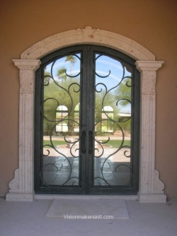 Visionmakers Steel Double Door 46