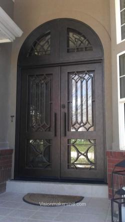 Visionmakers Steel Double Door 35