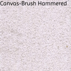 Canvas Hammered