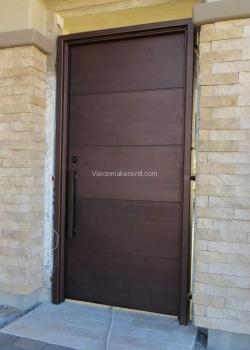 Heavy Bronze Door