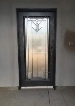 Pewter Door